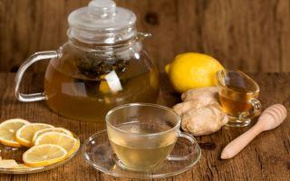 Пошаговые рецепты приготовления чая с имбирем и лимоном от простуды