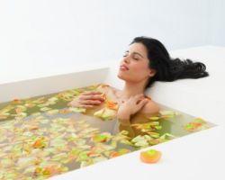 Комплексные ванны с добавлением имбиря