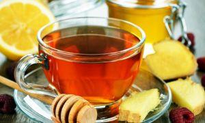 Рецепт и польза чая с малиной и имбирем