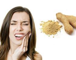 Использование имбиря от зубной боли