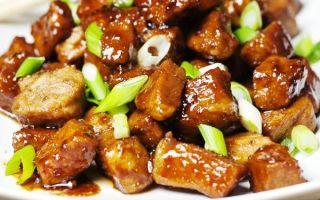 Пошаговые рецепты приготовления мяса с имбирем в домашних условиях