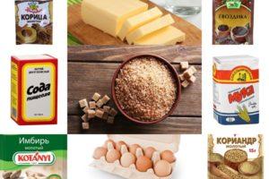 ингредиенты шведского имбирного печенья