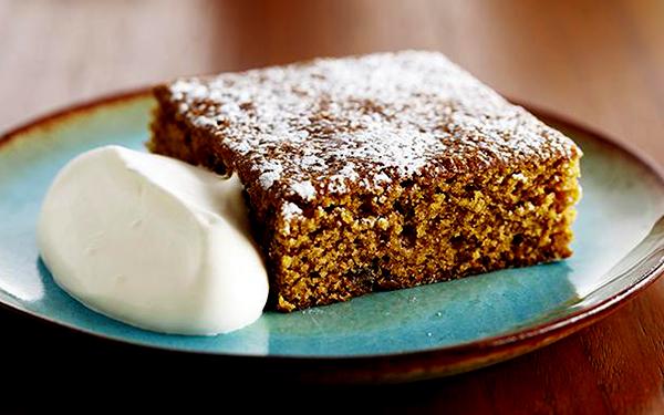имбирный торт со сметаной