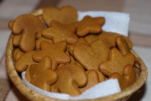 внешний вид диетического имбирного печенья