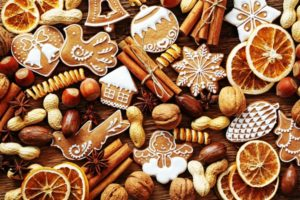 красивое имбирное печенье с глазурью