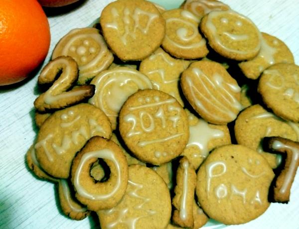 имбирное печенье с апельсином