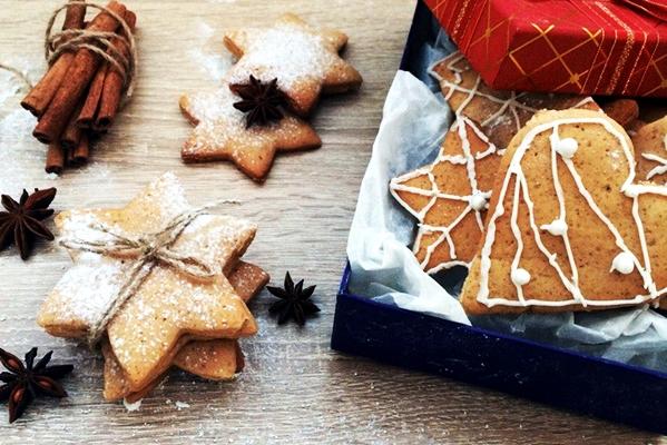 новогоднее имбирное печенье без меда