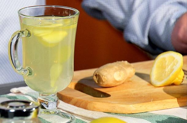 сок с имбирем и лимоном