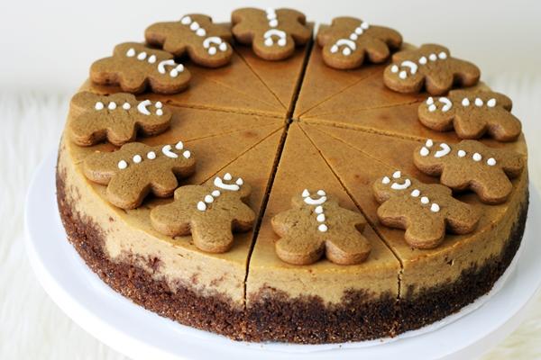 торт с имбирными пряниками