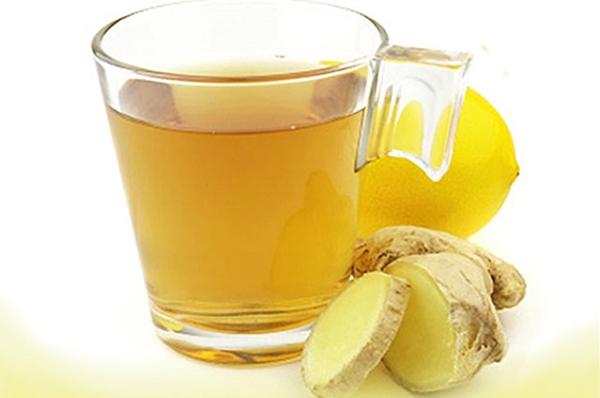 напиток с имбирем и лимоном