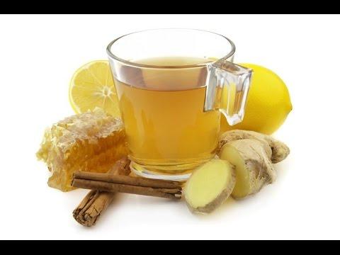 имбирный настой с медом и корицей