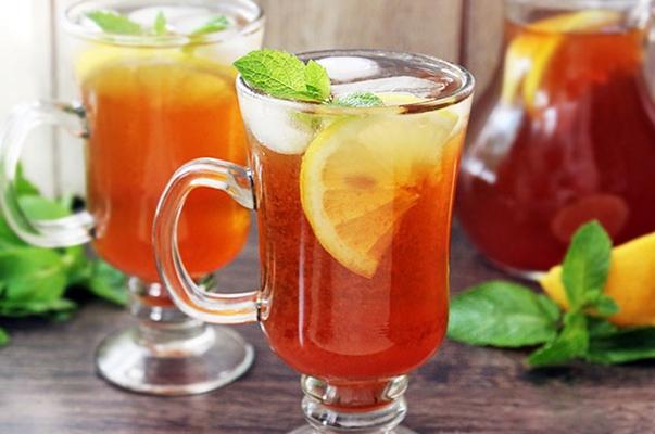холодный имбирный напиток