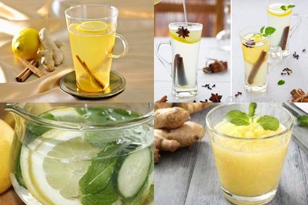 варианты имбирного напитка