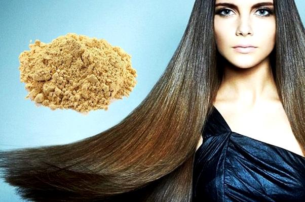 имбирный порошок для волос