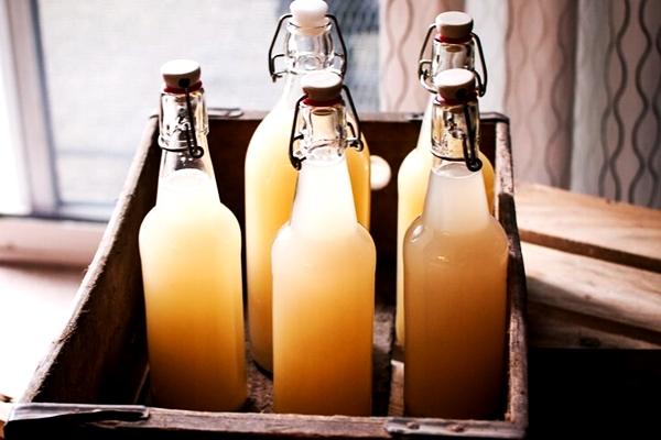 имбирное пиво в бутылках