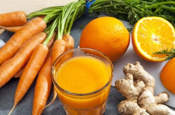коктейль с имбирем и морковью для почек