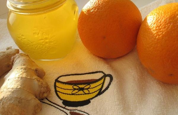 сироп с имбиря и цитрусовых