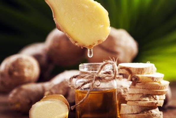 имбирь с оливковым маслом