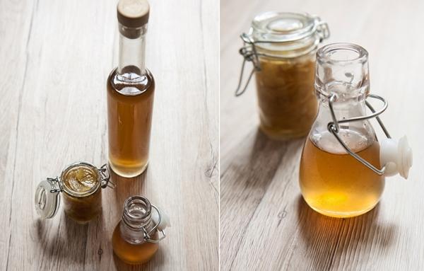 имбирный сироп в бутылках