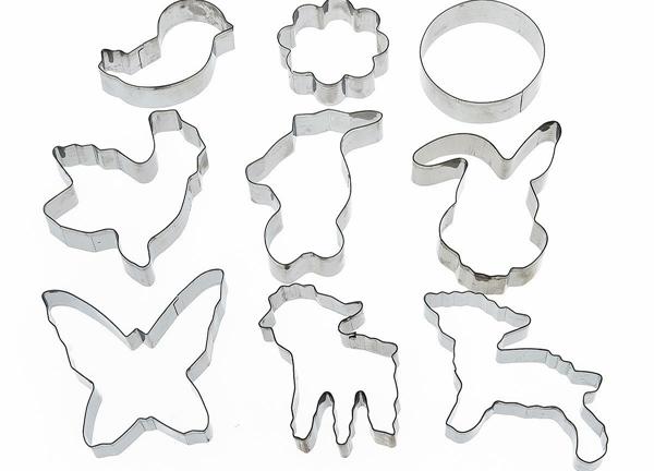 металлические формы зверей для пряников