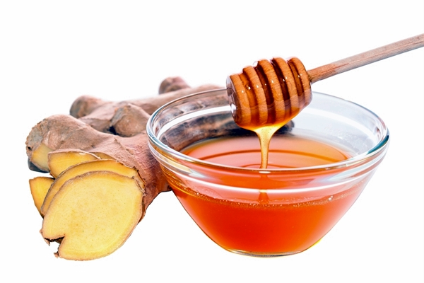 имбирный мед в миске