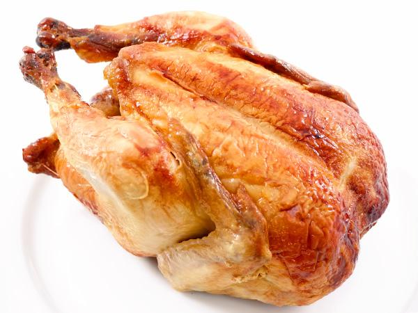 запеченная курица с имбирем