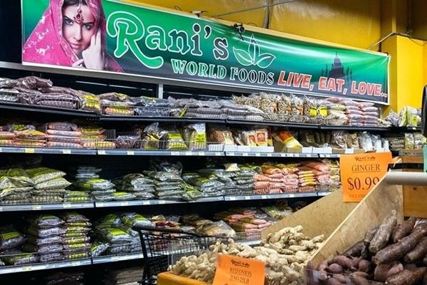 имбирь в супермаркете