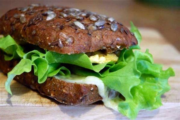 бутерброд с курицей и имбирем