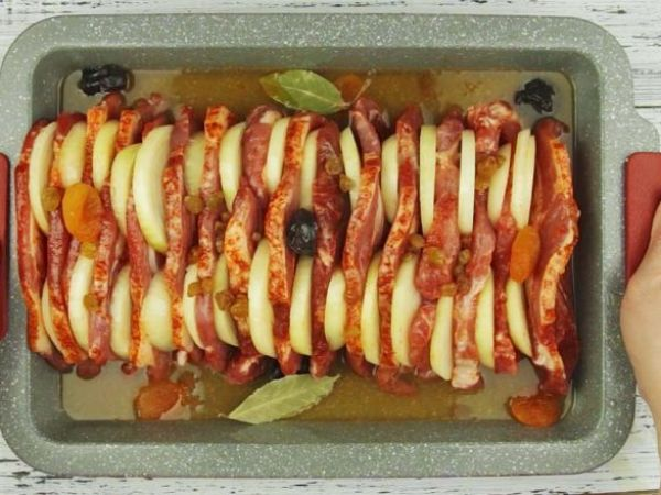 блюдо из свинины