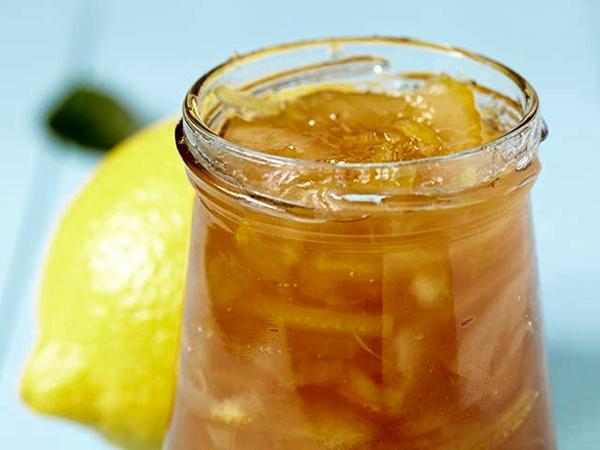 варенье с имбиря и лимона