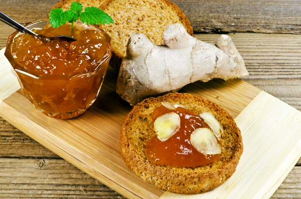 имбирное варенье с хлебом