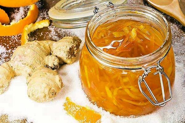 джем из имбиря и апельсина