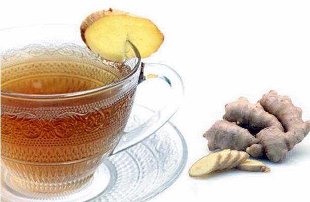 имбирный чай в чашке