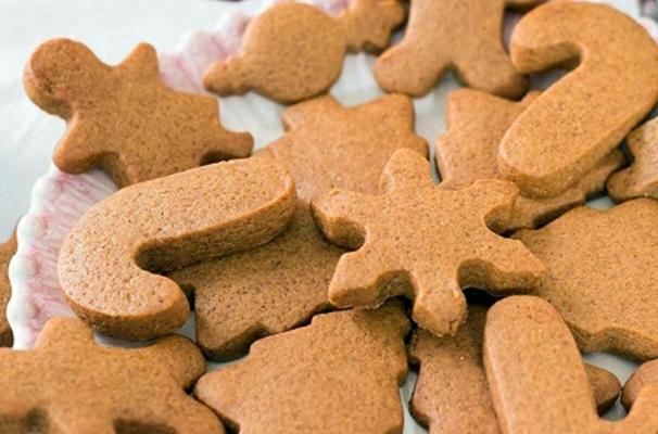 имбирное печенье со сковороды
