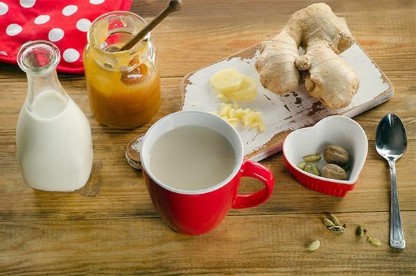 имбирь с молоком и медом