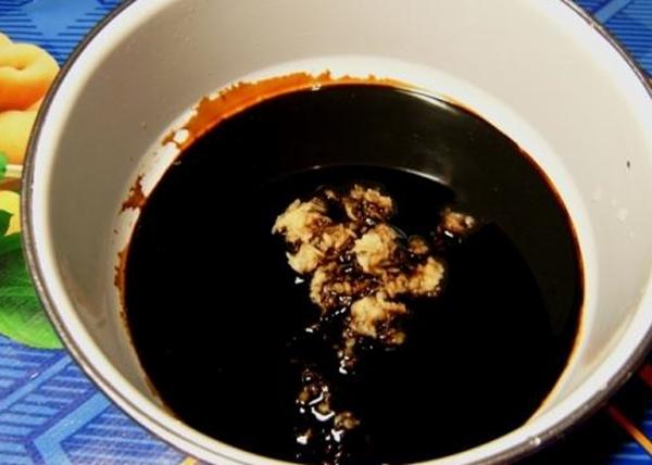 имбирный соус с медом