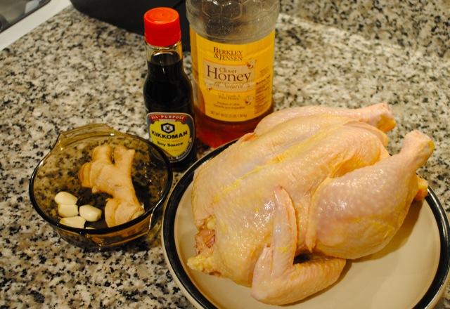 курица в имбирном соусе