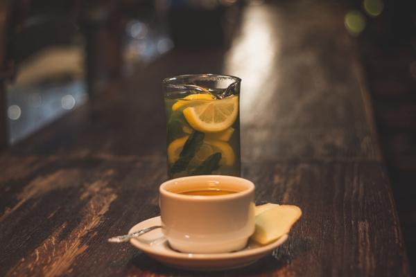 классический имбирный чай с лимоном