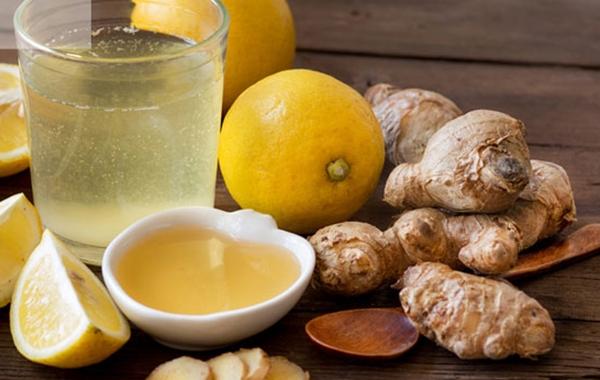 отвар с имбирем, лимоном и медом