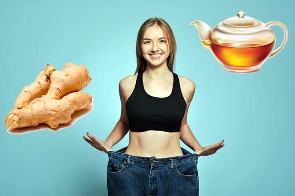 похудение с имбирным чаем