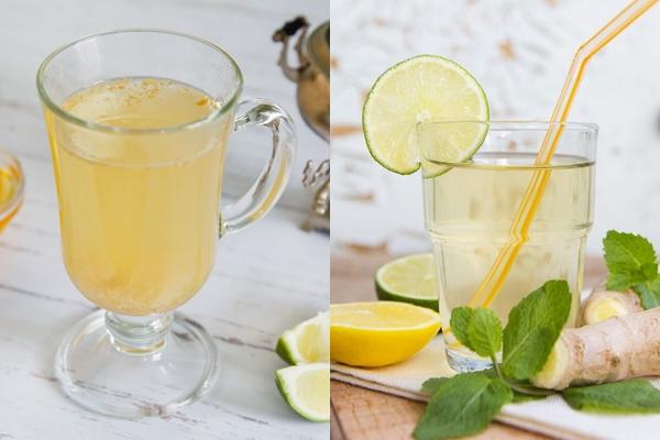 разные имбирные напитки