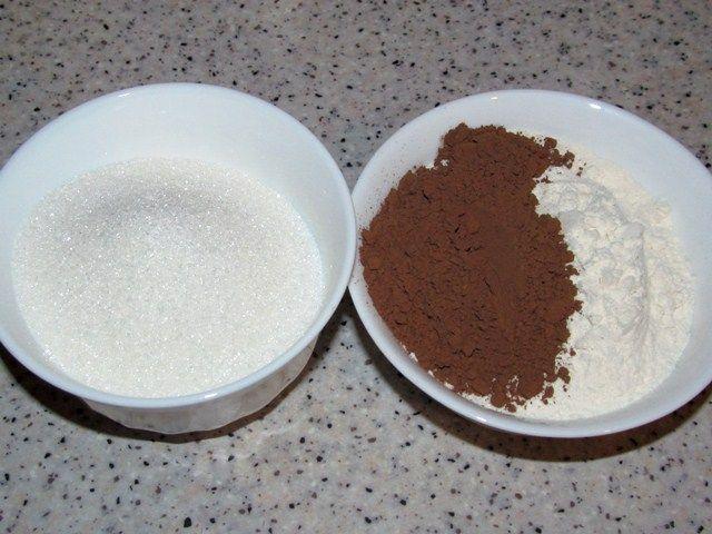 Сахар мука и какао